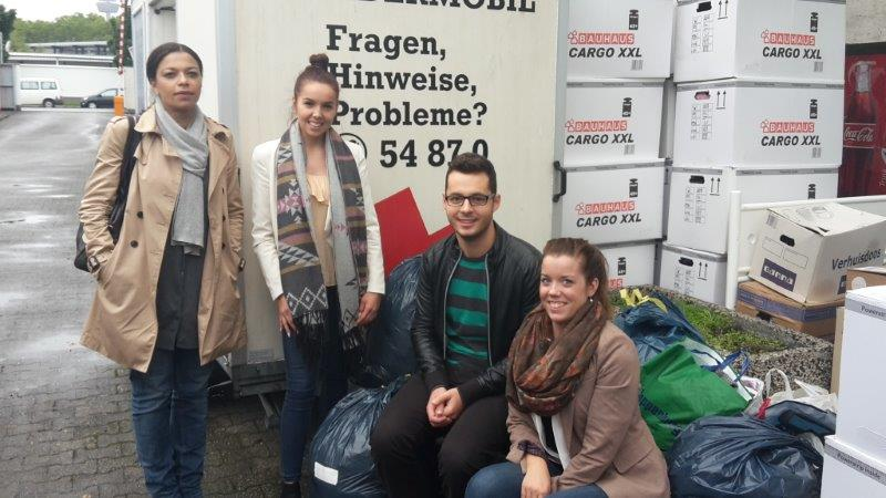 Sevatas donate clothes and toys in aid of Syrian refugees