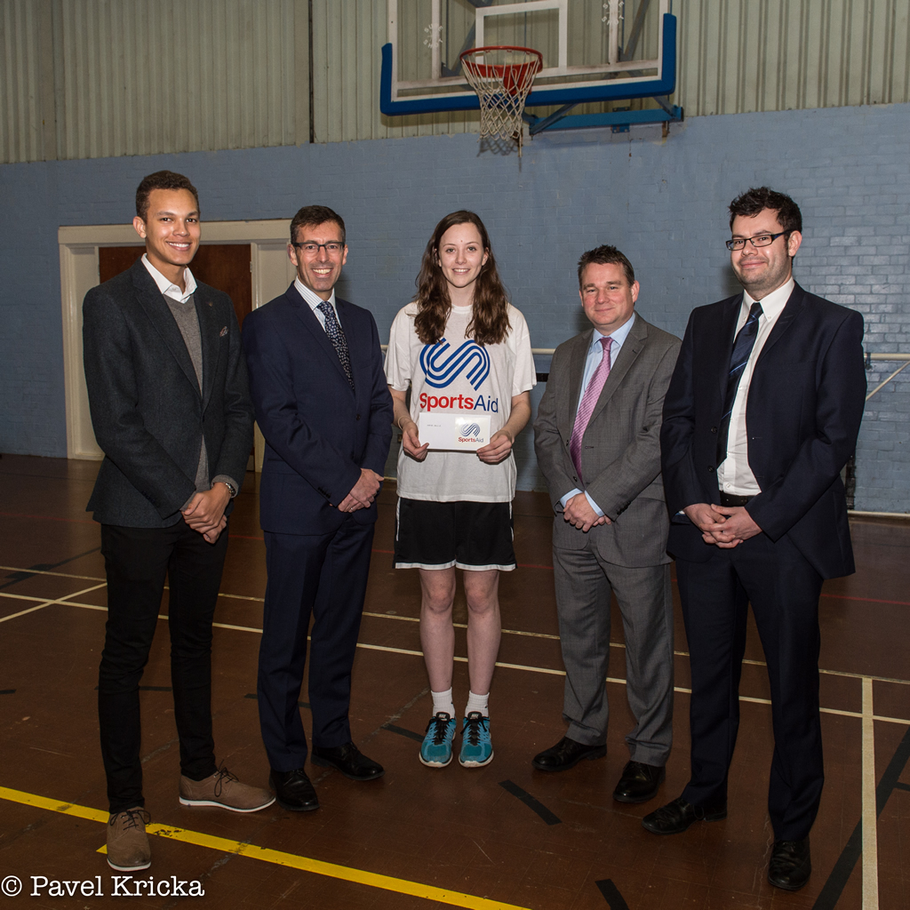 Grant award concludes another successful year for SportsAid in Suffolk